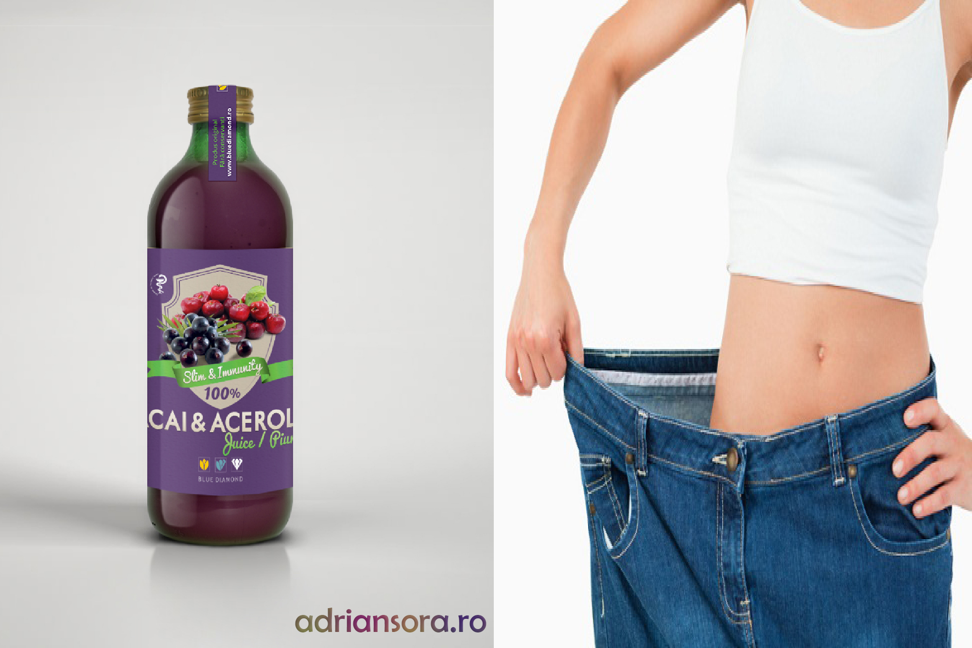 Acai & acerola juice 100% puree