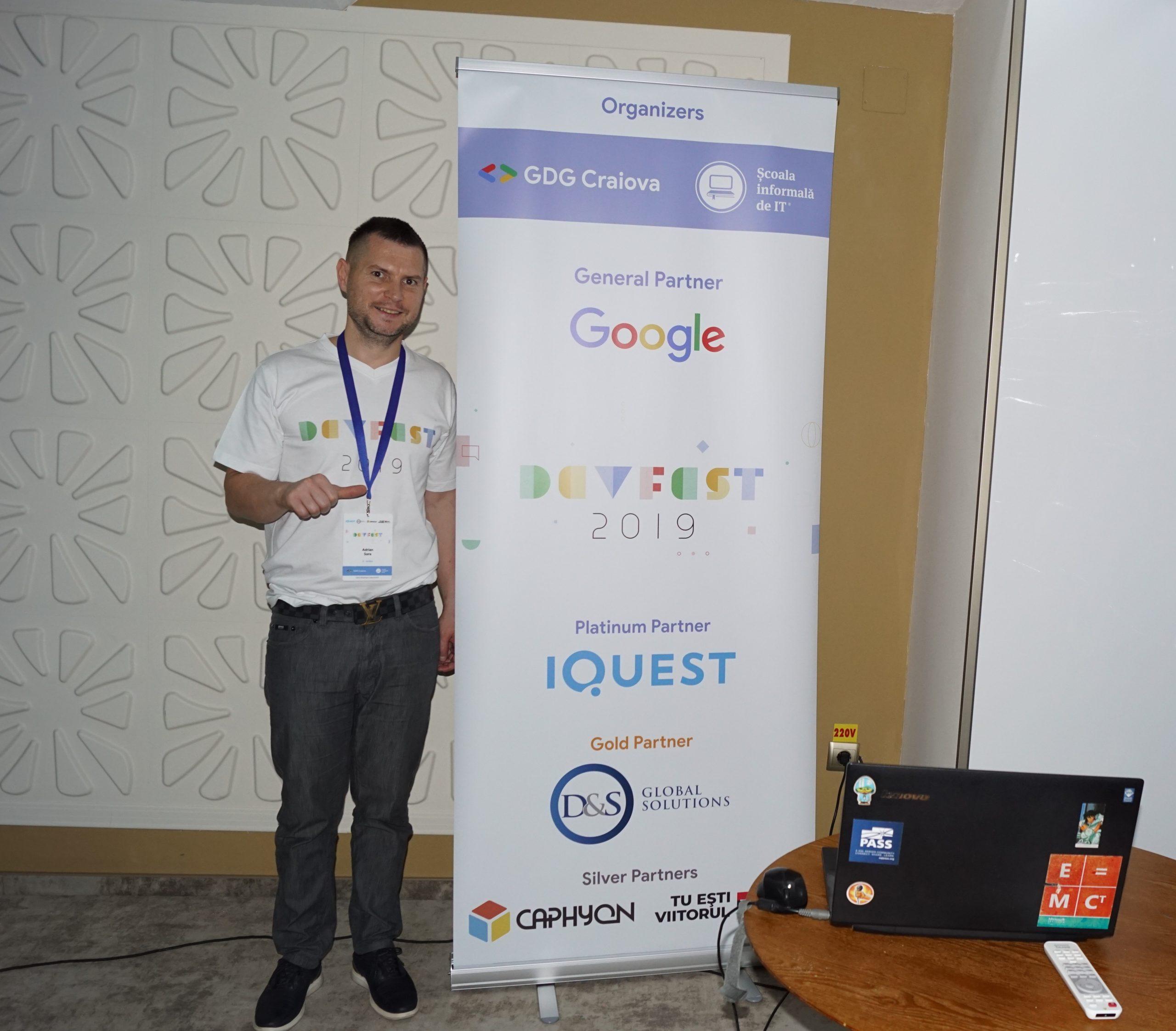 Impresiile mele - GDG DevFest la Craiova