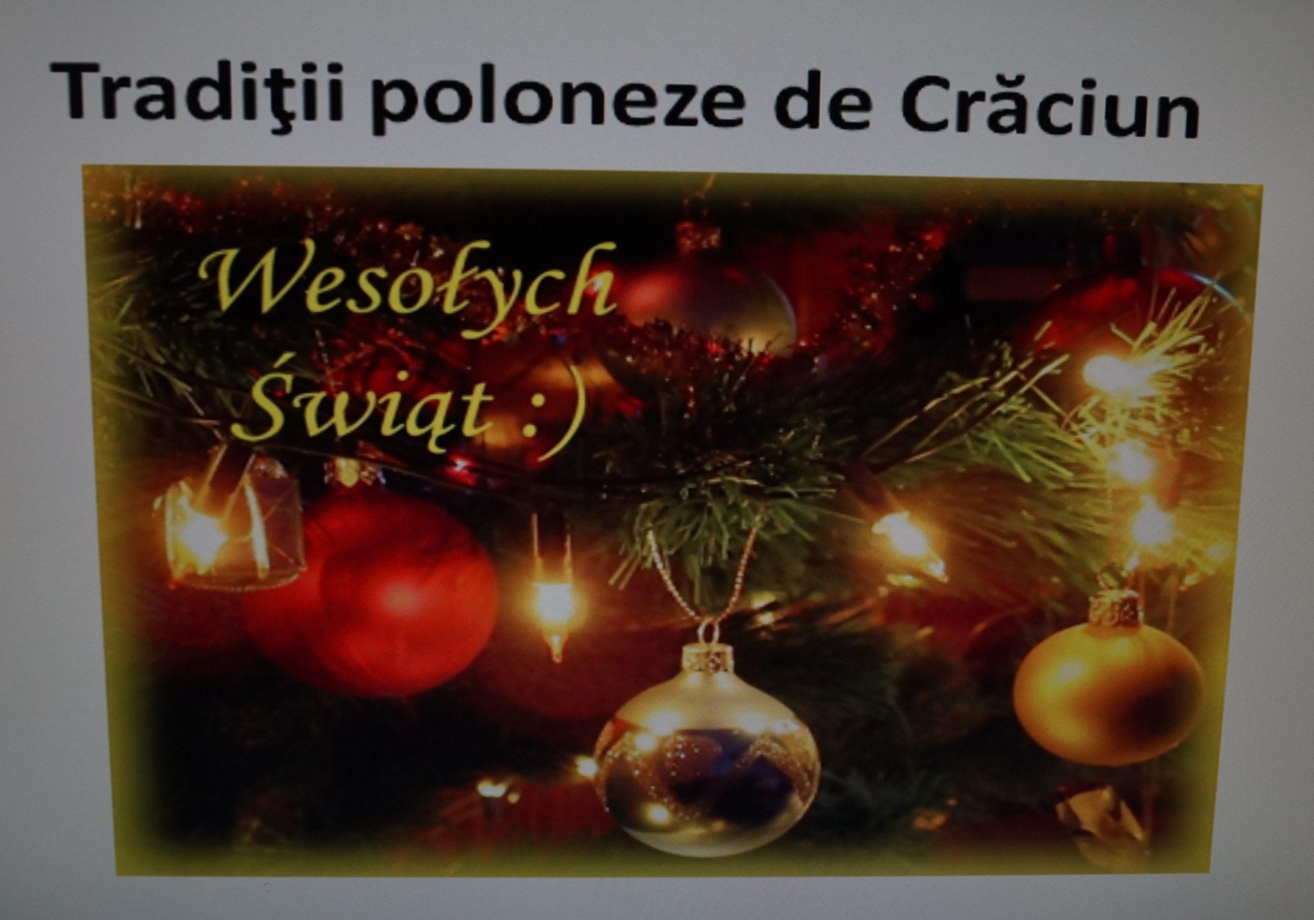 Seara de Crăciun 2019
