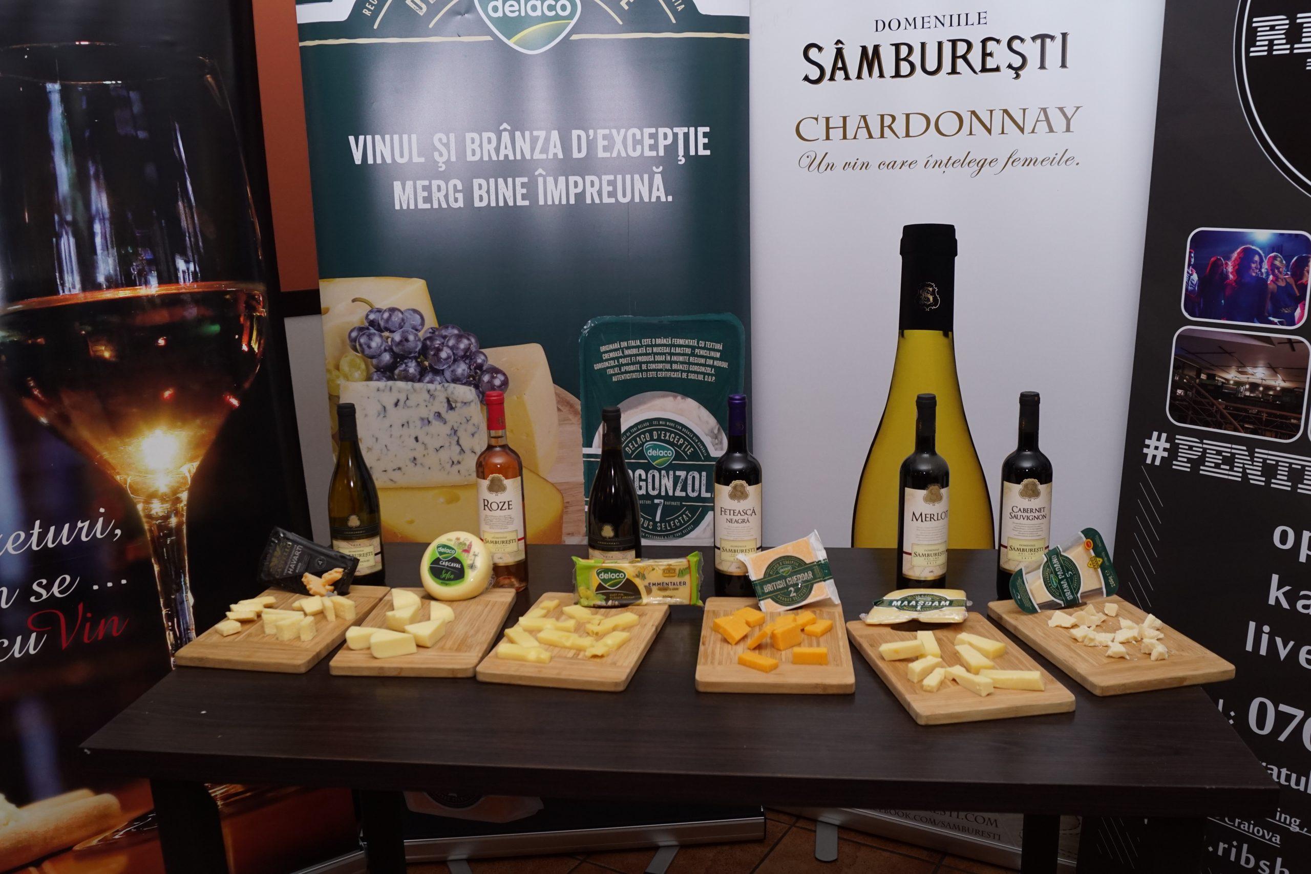 Brânzeturi cum se cuVin Domeniile Sâmburești