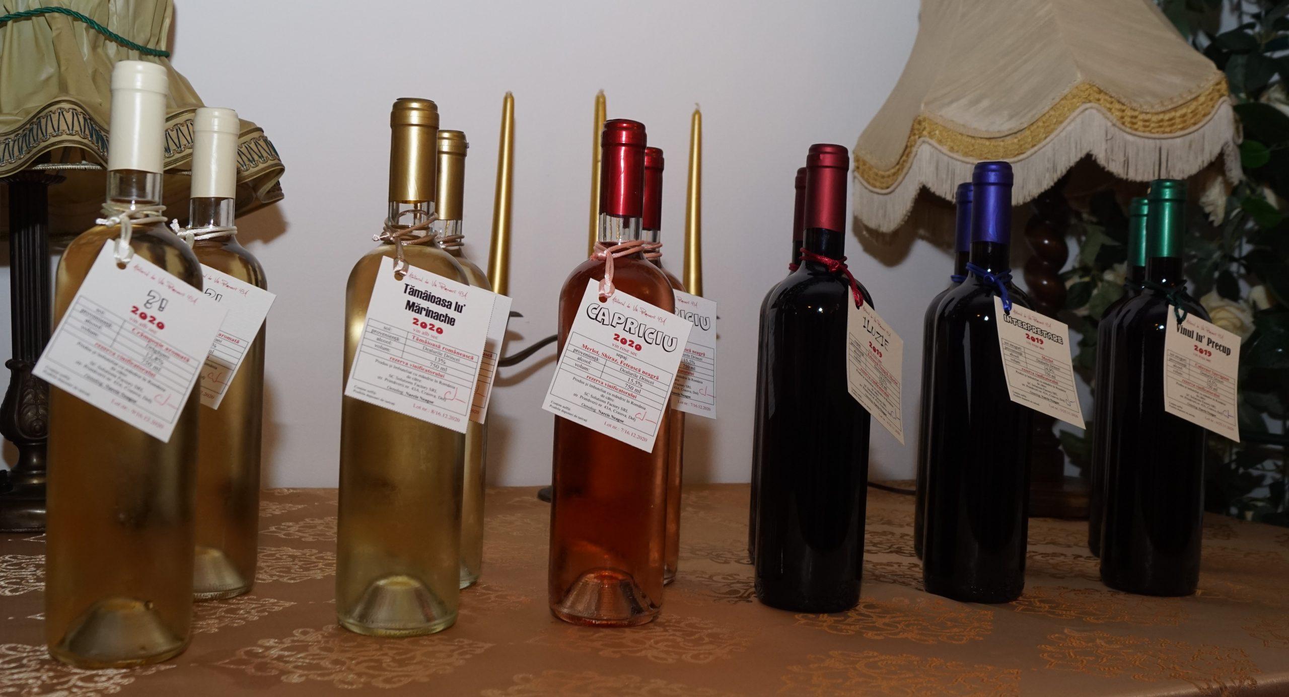vinurile lui Narcis și Lenu Neagoe