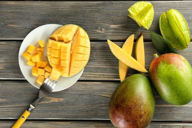 Fructul de mango